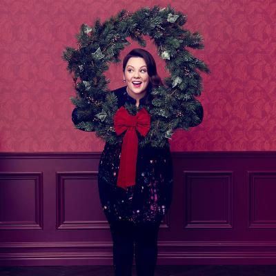 Buzzing: Melissa McCarthy Gets Into the Christmas Spirit in Her Seven7 Holiday Campaign #fashion
