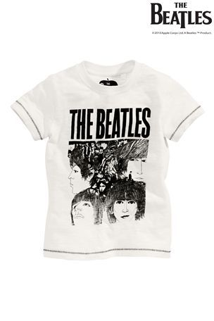 Buy White Beatles T-Shirt (3mths-6yrs) from the Next UK online shop
