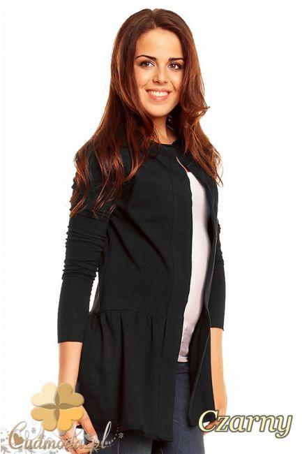 Niezapinany damski żakiet firmy NOMMO.  #cudmoda #moda #styl #ubrania #odzież #ubrania #żakiety #narzutka #clothes