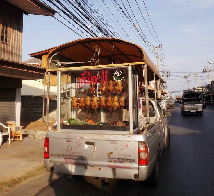 Roasted chicken Thailand