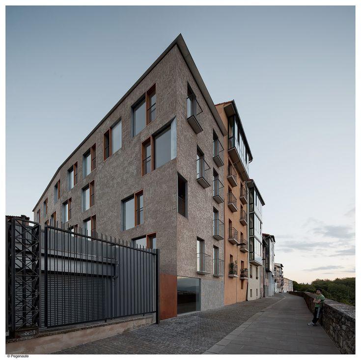Galería - Edificio de viviendas para realojos en el Casco Histórico de Pamplona / Pereda Pérez arquitectos - 9