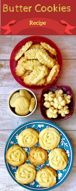 Egg Less Butter Cookies If you are looking for butter cookies that just melt in you mouth , your search ends here. These cookies just melt in your mouth. An interesting activity to do with kids. Bake them for a cookie swap or as a gift.