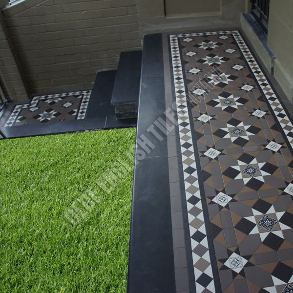Fitzroy pattern with Norwood border - Verandahs Image 13 of 82
