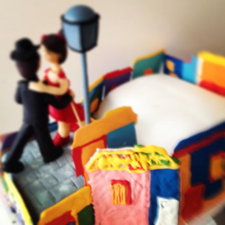 """Tango cake by """"Erase una vez"""""""