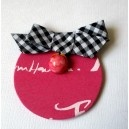 Pink: Brooch and Pin. Spring/Summer Collection 2012.