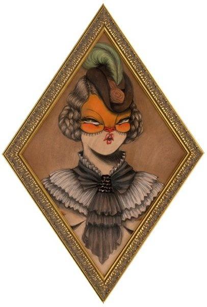 "MISS VAN   Fashion Illustration   Street Art  ""Bailarinas"" Solo Show"
