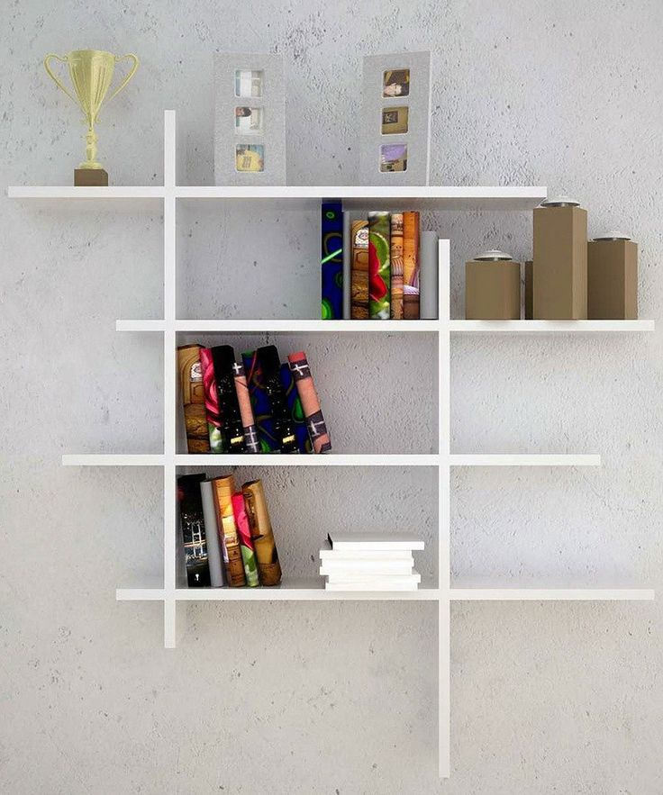 Home Interior, Wall Shelves: Creating Neatness And Beauty In Your Home:  Contemporary Wall Shelves Ideas