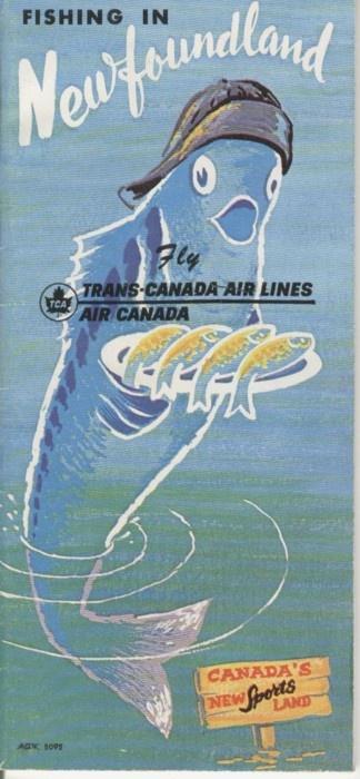 TCA brochure Newfoundland 1962