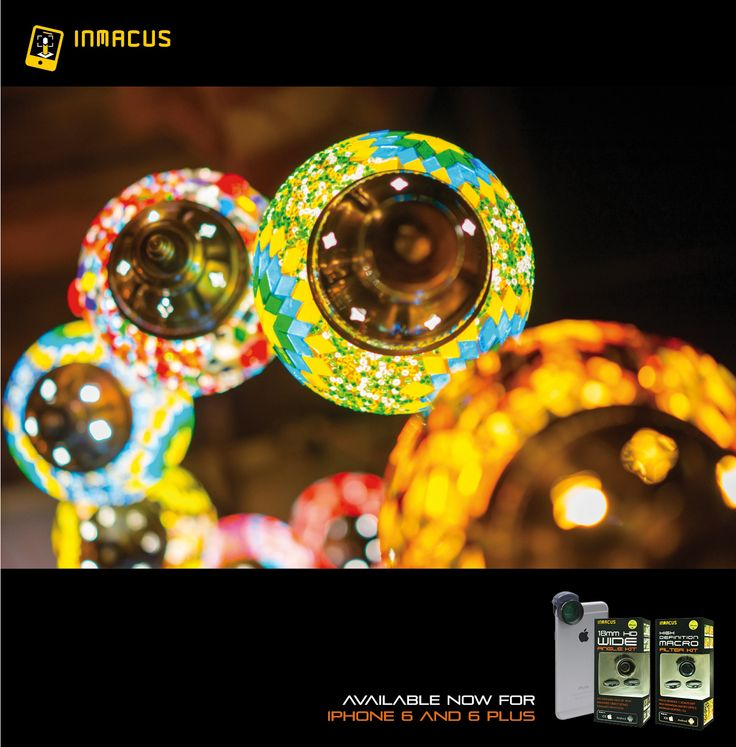 #Inmacus 18mm HD Wide Lens & Filter Kit and HD Macro Filter Kit for iPhone 6 and iPhone 6 PLUS are now available online for worldwide shipping. Check out our online shop at http://launch.inmacus.com for pricing and delivery option.