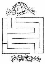 Övningar att skriva ut. Labyrinter27