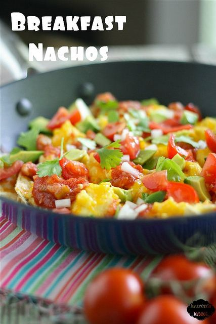 Healthy Breakfast Nachos: Breakfast Ideas, Health Food, Breakfast Healthy, Scrambled Eggs, Health Care, Healthy Breakfast, Healthy Eating, Health Tips, Breakfast Nachos