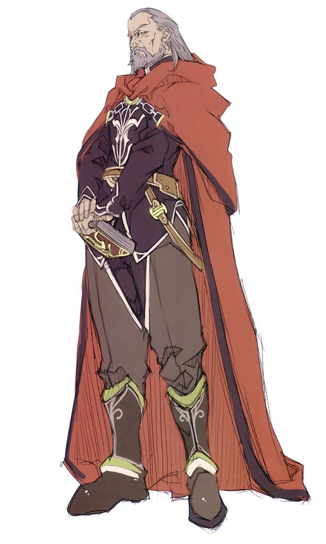 Crevan, chieftan of Sewrath clan, father of Temen and Daro Sewrath