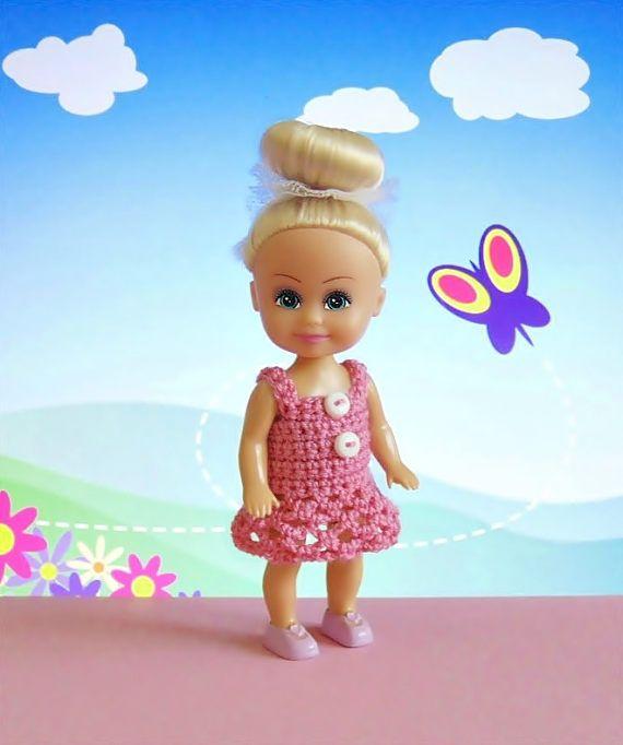 Miniature dress miniature doll dress miniature clothes