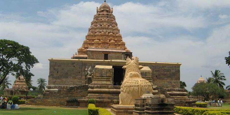 "The Peruvudaiyar Kovil, also known as Brihadeeswara Temple, RajaRajeswara Temple and Rajarajeswaram,[1] at Thanjavur in the Indian state of Tamil Nadu, is a Hindu temple dedicated to Shiva and an art of the work achieved by Cholas in Tamil architecture. The temple is part of the UNESCO World Heritage Site ""Great Living Chola Temples""."