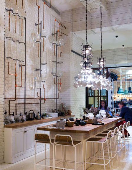 Restaurante Artte. Bistrot, salón de té y escaparate de artistas en el centro de Barcelona FOTOS: Enrique Menossi http://www.muudmag.com/spa/pagina/503-restaurante-Artte