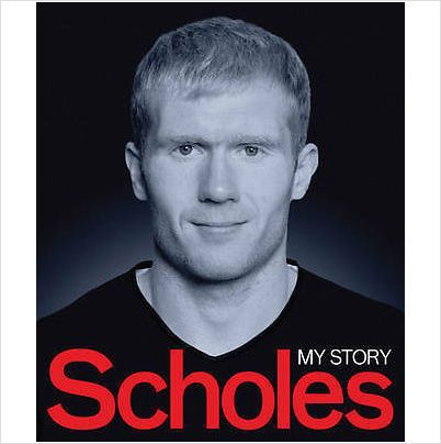 SCHOLES MY STORY PAUL SCHOLES MANCHESTER UNITED BRAND NEW BOOK £7.99+FREE POSTAGE