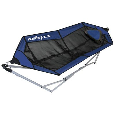 The new Lazy Days Mesh Hammock is the most innovative freestanding, lightweight, portable hammock there is, and can be easily set up in seconds. With its breathable mesh material, air can circulate and keep you cooler on warmer days and the inflatable pillow is ideal for the laziest loafers.