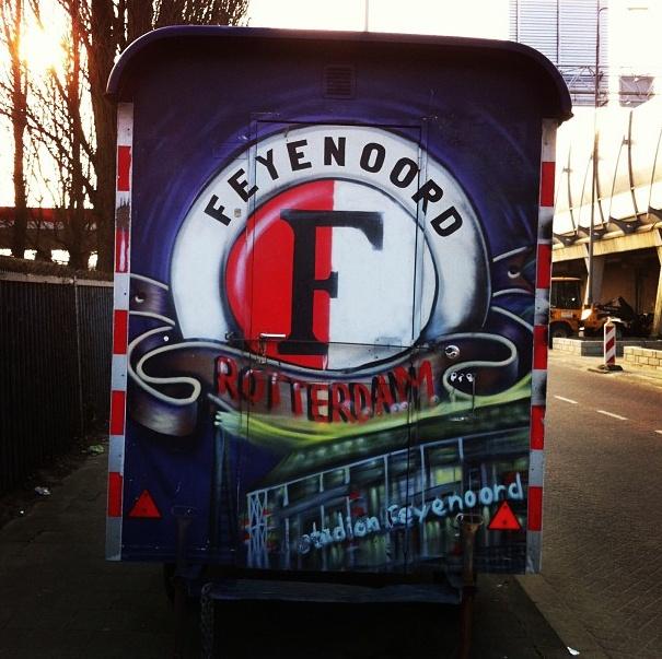 Feyenoord Graffiti Rotterdam
