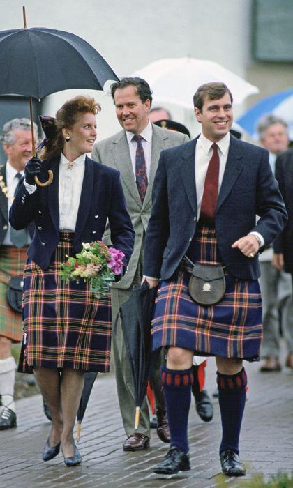 Times tartan got a royal twist: The Queen, Princess Diana, Kate and more - HELLO! Canada