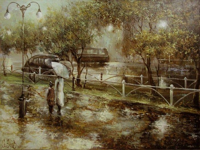 пейзажи художника Сергея Боева – 10