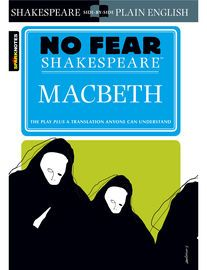 Macbeth (No Fear Shakespeare) | http://paperloveanddreams.com/book/783685997/macbeth-no-fear-shakespeare | No Fear Shakespeare gives you the complete text of Macbeth on the left-hand page, side-by-side with an easy-to-understand translation on the right.Each No Fear Shakespeare containsThe complete text of the original playA line-by-line translation that puts Shakespeare into everyday languageA complete list of characters with descriptionsPlenty of helpful commentary