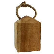 Wood Weight as doorstop