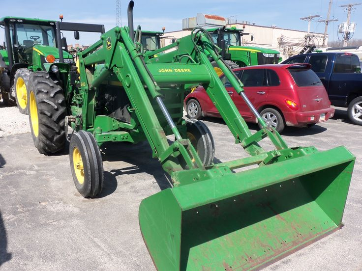 55hp John Deere 2355 with  245 loader.This is a 1989 model with 1,422 hours which is really not alot for a 25 year old tractor.Price is $22,500