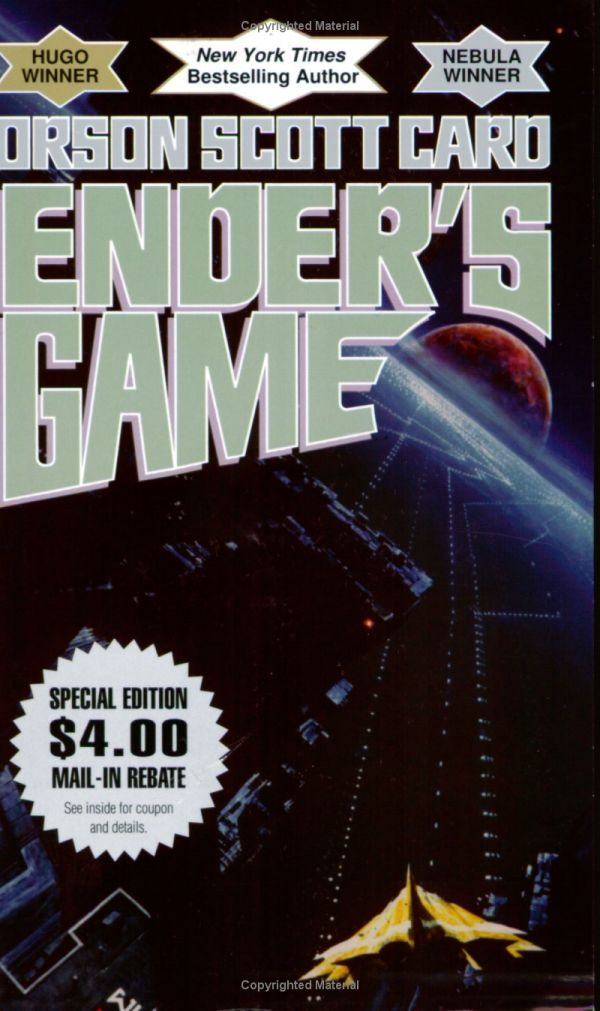 Started on Ender's Game. Liking it so far.