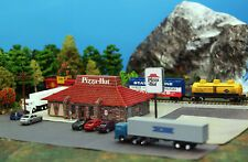 Find great deals for N Scale 80's Pizza Hut Restaurant Building DIY Cardstoc…