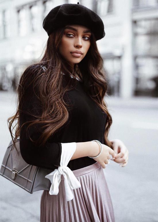 b99127f4 The Resurgence of French Berets: How to Wear a Beret | It Girl Style ...