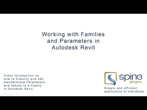 SPINE - Working with Families and Parameters in Autodesk Revit - YouTube