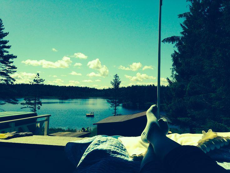 At my cabin <3