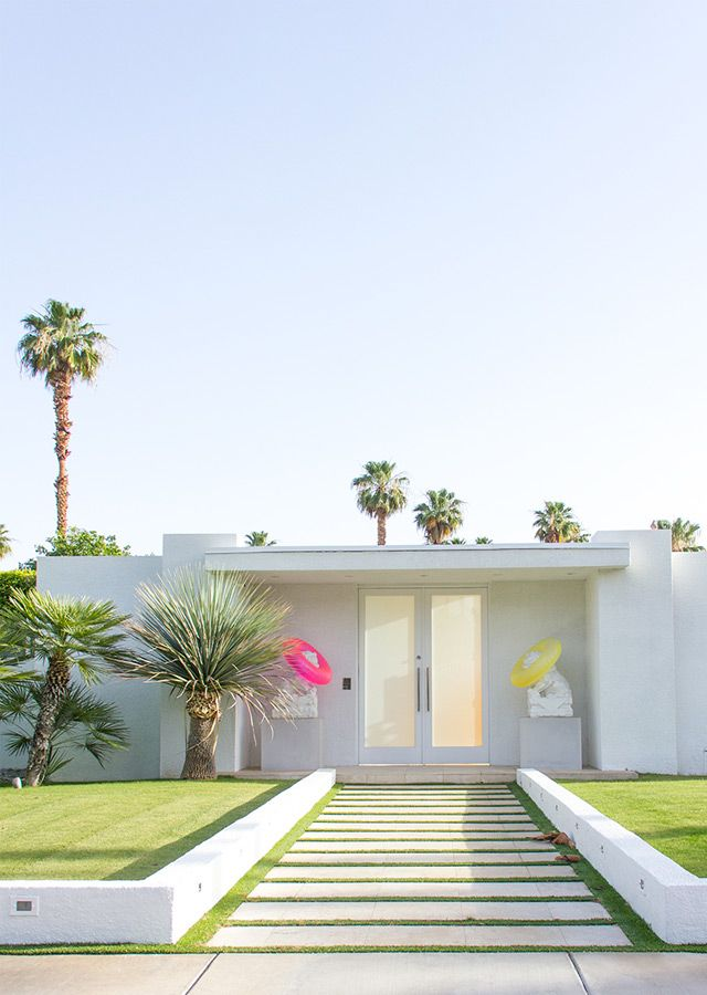 Palmsprings house very minimalist