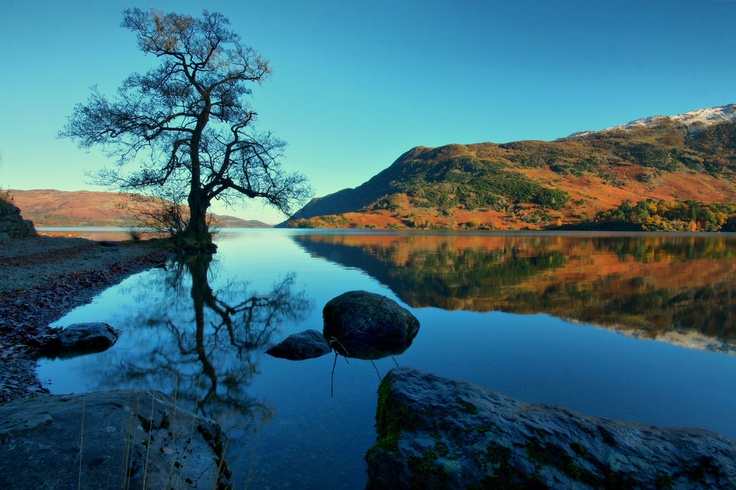 Glenridding, Lake District, England  Ullswater reflections (by Andy Watson1)