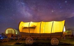 """A new luxury camping resort in Utah is enticingtravelersto the state's northeast corner, away from the """"Mighty 5"""" coalition of epic national parks (count 'em: Arches, Bryce Canyon, Capitol Reef, Zion, and Canyonland) that traditionally draw tourists to the region."""