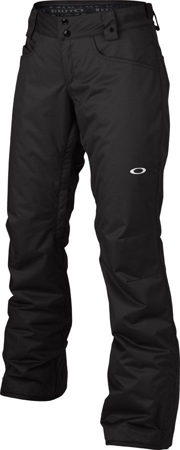 Oakley Tango Insulated Women's Snowboard/Ski Pants, M, Jet Black