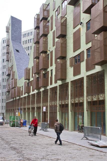 IJdock Amsterdam / Apartment Building By Zeinstra Van Gelderen Architects