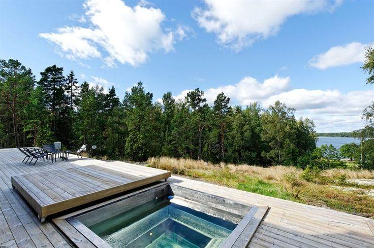 Beautiful setting and hot tub