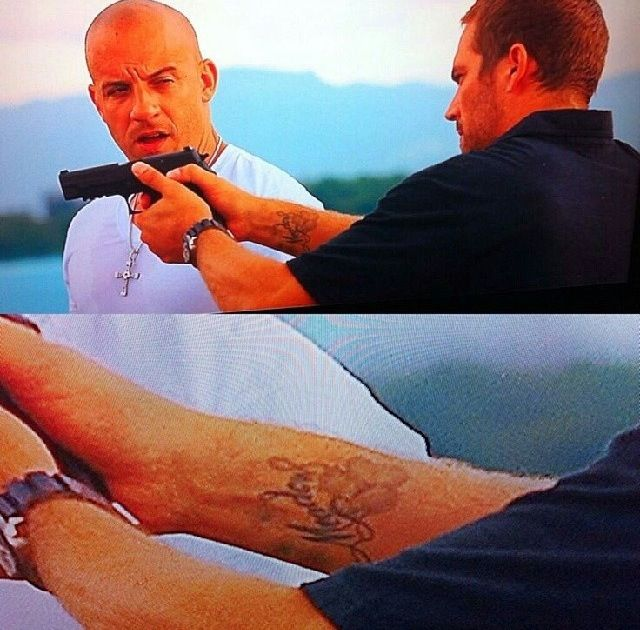 1000 images about paul walker and vin diesel on pinterest for Fast and furious tattoo