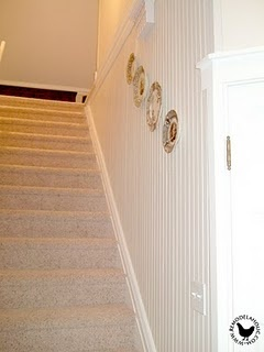 Hallway remodel... the before was SCARY!