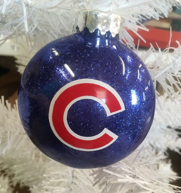 Chicago Cubs MLB Ornament