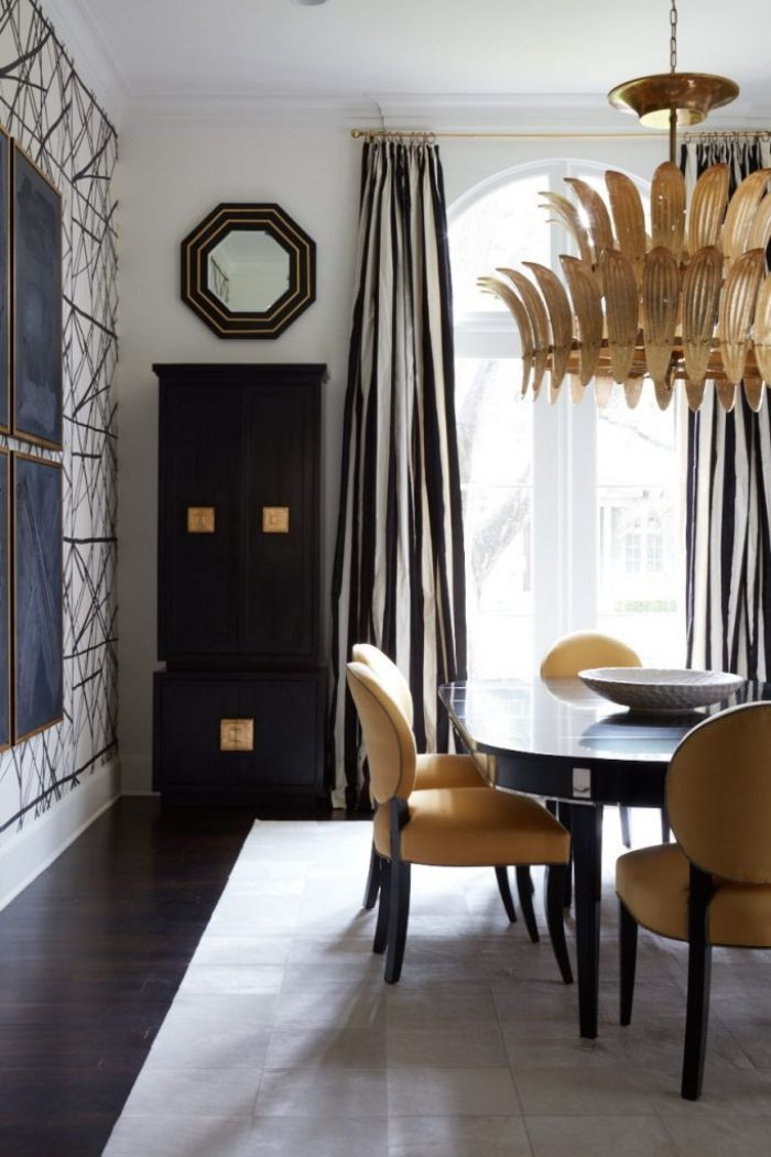 349 best chic dining rooms images on Pinterest | Dining room, Home ...