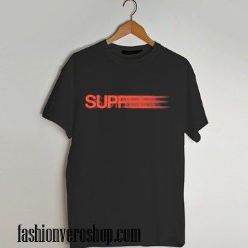 Supreme blurry red T shirt