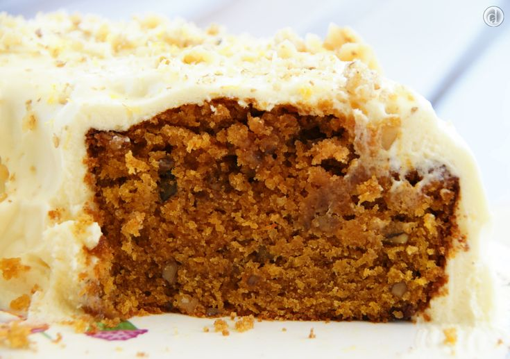 Delicious gluten free carrot cake - dairy free, soy free & can be made nut free.