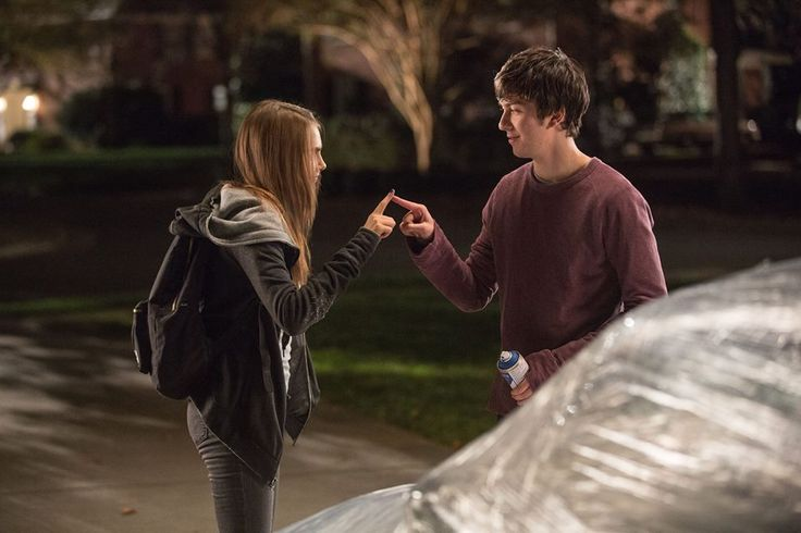 Margo Roth Spiegelman and Quentin in Paper Towns ❤