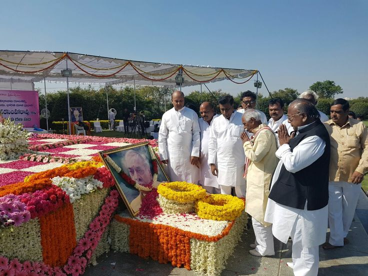 Paid Tributes to former Prime Minister Shri P. V. Narasimha Rao ji on his 12th Death Anniversary.