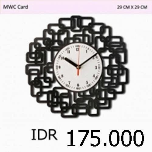 MWC Card - GALLERY JAM DINDING UNIK