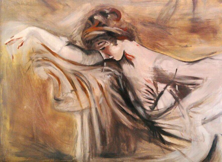 Copia di un'opera di Boldini.