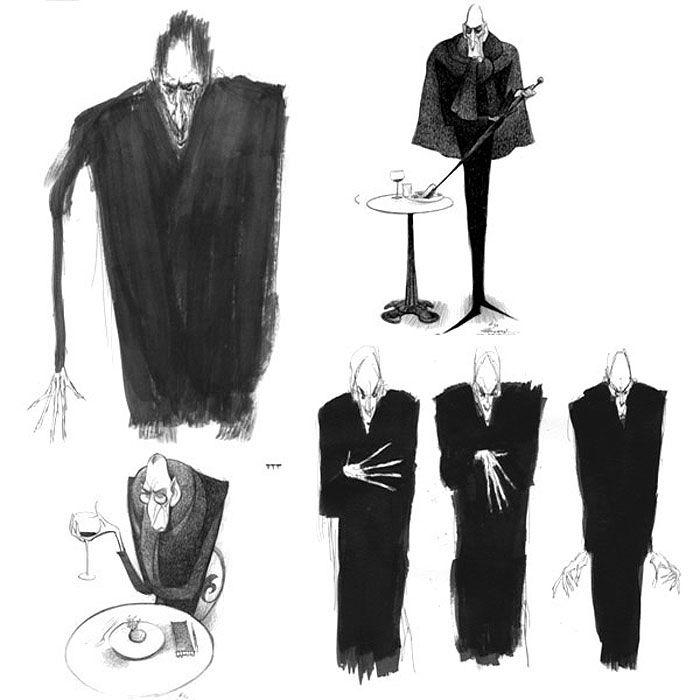 Living Lines Library: Ratatouille (2007) - Concept Art - personagem