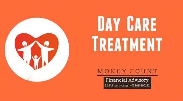 Day Care Treatment  Family Health Optima from Money Count Financial Advisory is a health insurance plan that gives protection for the entire family on the payment of a single premium. It provides 405 day care treatments.  We, Money Count, suggest what is best and lasting for you and your family. Get in touch with us for more help.
